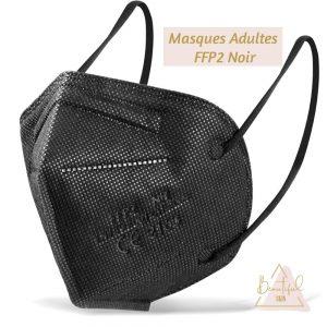 Masque FFP2 noir